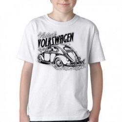 Camiseta Infantil Fusca Volkswagen Vintage
