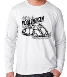 Camiseta Manga Longa Fusca Volkswagen Vintage