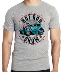Camiseta Infantil Carro antigo Hot Rod