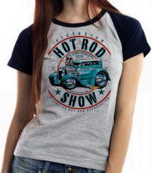 Blusa Feminina Carro antigo Hot Rod