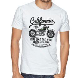 Camiseta  Califórnia Moto Harley