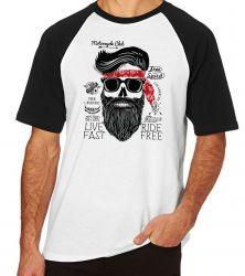 Camiseta Raglan  Moto Cycle Club