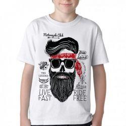 Camiseta Infantil Moto Cycle Club