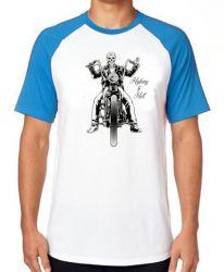 Camiseta Raglan  Moto Highway