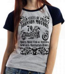 Blusa Feminina Moto Johnson Motors