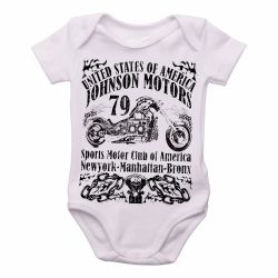 Roupa Bebê Moto Johnson Motors