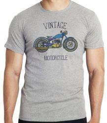 Camiseta Infantil Moto Vintage