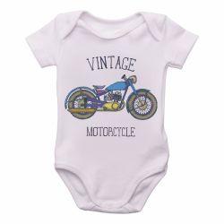 Roupa Bebê Moto Vintage