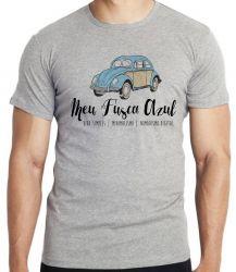 Camiseta Meu Fusca Azul