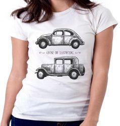 Blusa Feminina Carro Antigo