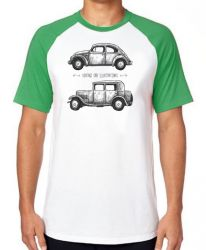 Camiseta Raglan Carro Antigo