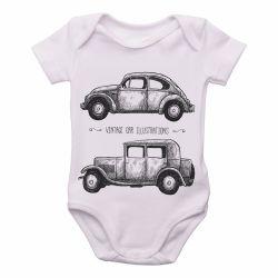 Roupa Bebê Carro Antigo
