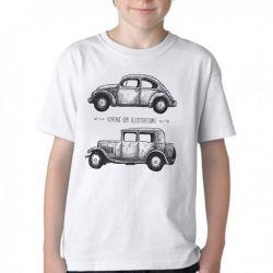 Camiseta Infantil Carro Antigo