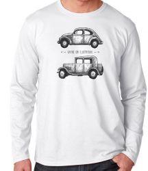 Camiseta Manga Longa Carro Antigo