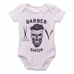 Roupa Bebê Barbeiro Shop Barbearia