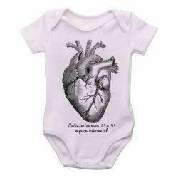 Roupa Bebê Coração Enfermagem Medicina