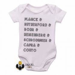 Roupa Bebê Físicos Quânticos