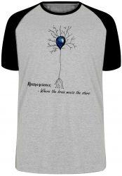 Camiseta Raglan Neurônio Humano