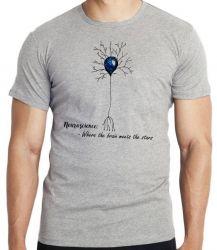Camiseta Infantil Neurônio Humano