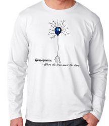 Camiseta Manga Longa Neurônio Humano