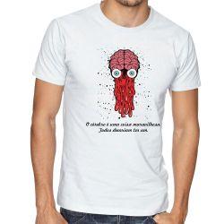 Camiseta Cérebro todos deveriam ter um