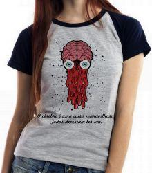 Blusa Feminina Cérebro todos deveriam ter um