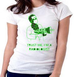 Blusa Feminina Radiologia Radiologista