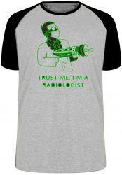 Camiseta Raglan Radiologia Radiologista