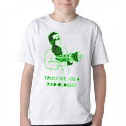 Camiseta Infantil Radiologia Radiologista