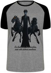 Camiseta Raglan Origem dos Guardiões Breu