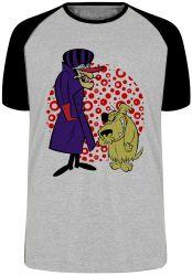 Camiseta Raglan Dick Vigarista Mutley