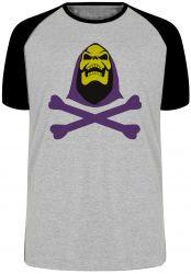 Camiseta Raglan Esqueleto