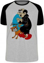Camiseta Raglan Gargamel