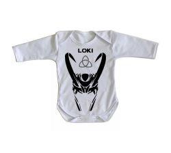 Roupa Bebê manga longa Loki
