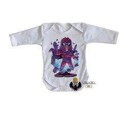 Roupa Bebê manga longa Magneto