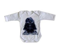 Roupa Bebê manga longa Darth Vader