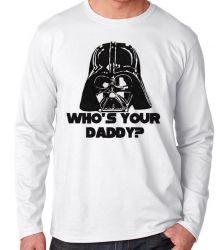 Camiseta Manga Longa Darth Vader Daddy