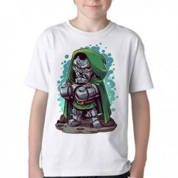 Camiseta Infantil Dr Destino