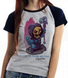 Blusa Feminina Esqueleto He Man