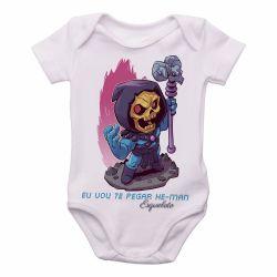 Roupa Bebê Esqueleto He Man