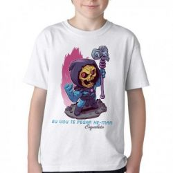 Camiseta Infantil Esqueleto He Man