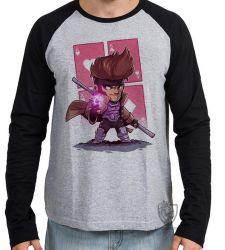 Camiseta Manga Longa Gambit