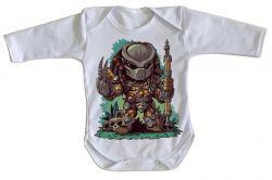 Roupa Bebê manga longa Predador