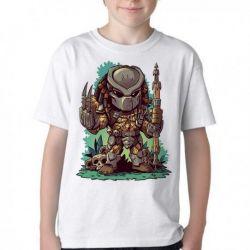 Camiseta Infantil Predador