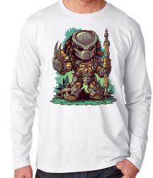 Camiseta Manga Longa Predador