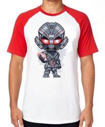 Camiseta Raglan Ultron