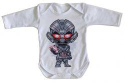 Roupa Bebê manga longa Ultron