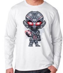 Camiseta Manga Longa Ultron