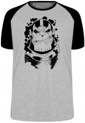 Camiseta Raglan Thanos black