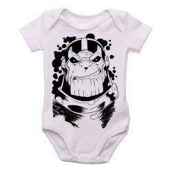 Roupa Bebê Thanos black